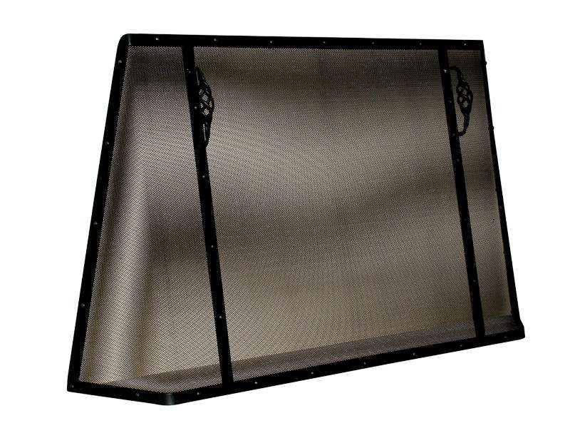 Traditional Fleckhammer Ironware Fire Screen Guard