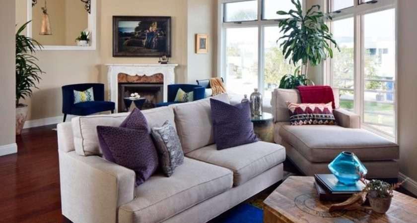 Traditional Modern Living Room