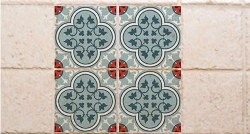 Traditional Tiles Floor Vinyl Tile