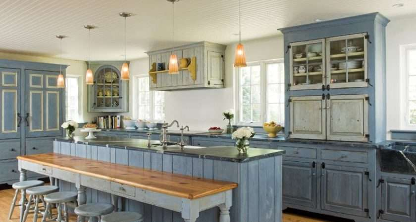 Traditional Trades Period Kitchen Cabinets Old House