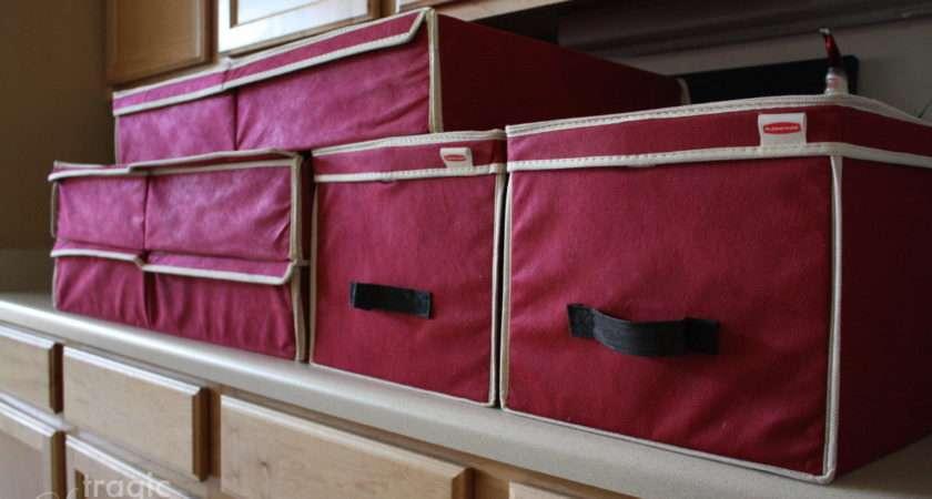 Tragic Sensation Christmas Ornament Storage Solution
