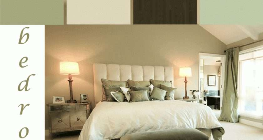 Tranquil Green Bedroom Color Scheme Paint
