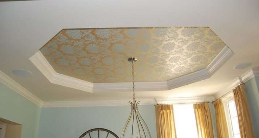 Tray Ceiling Design Home Examples