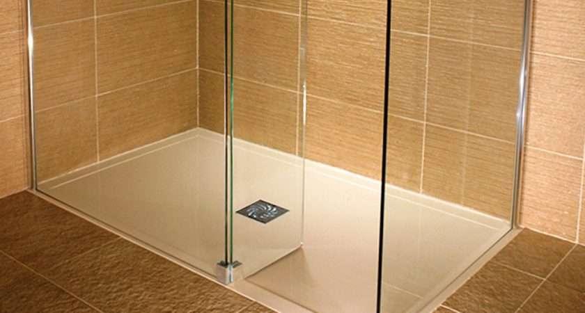 Traymate Wetroom Walk Enclosure Stone Shower