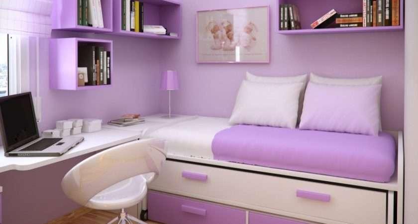 Trend Homes Cool Purple Girl Bedrooms Design
