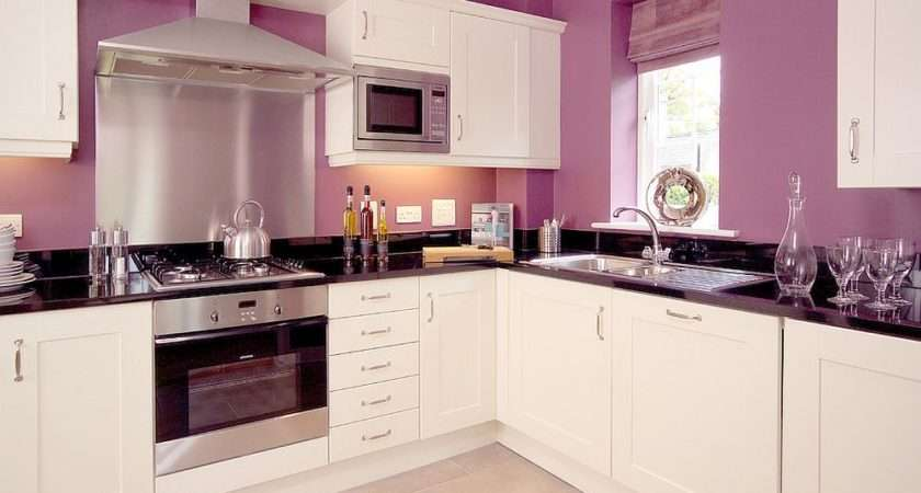 Trendy Color Upgrade Stylish Kitchens Shades Violet