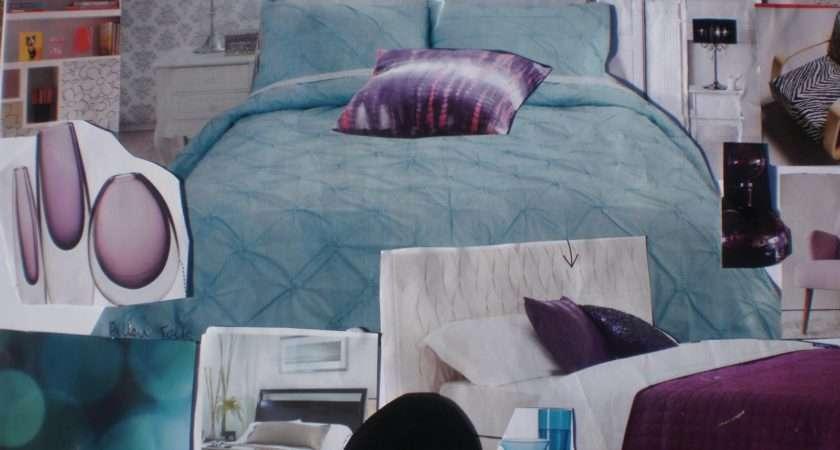 Trendy Purple Turquoise Bedroom Decobizz