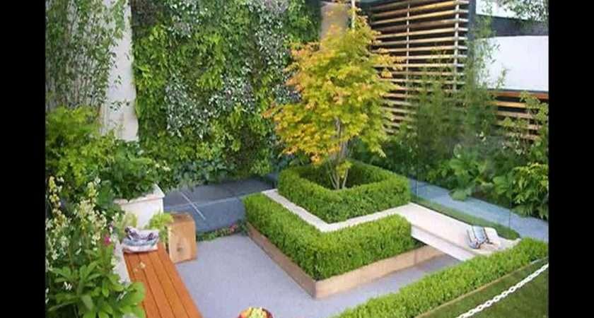 Trendy Small Back Garden Ideas
