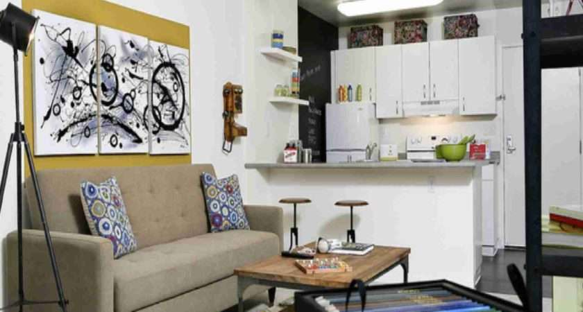 Tricks Decorate Your Small Space Smashing Tops