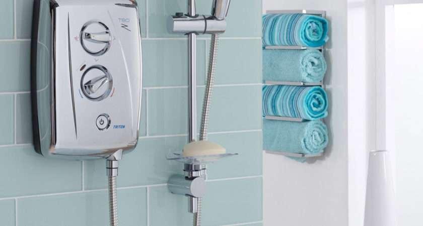 Triton Fast Fit Chrome Electric Shower