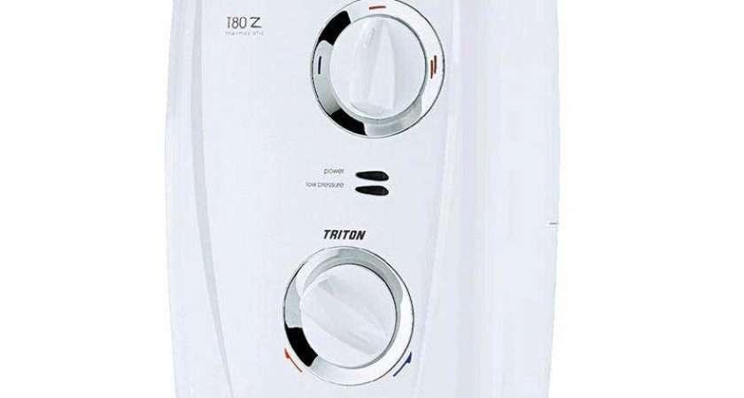 Triton Thermostatic Electric Shower White