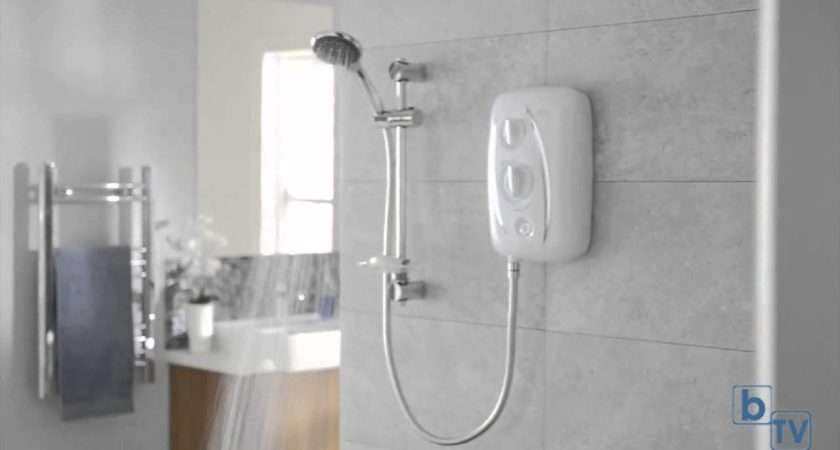 Triton Thermostatic Fast Fit Electric Shower Youtube