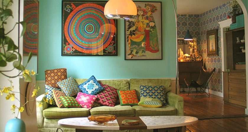 Turquoise Bohemian Living Room Nature Light Interiors Pinterest