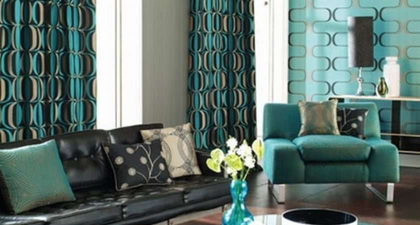 Turquoise Curtains Great Ideas Modern Decoration