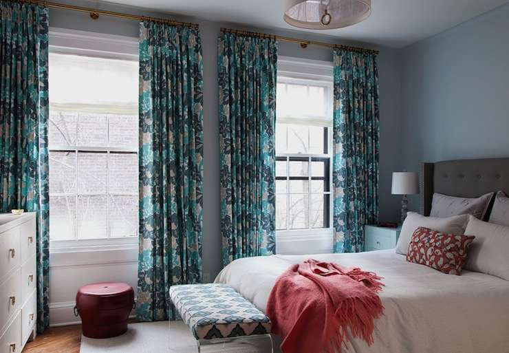 Turquoise Teal Curtains