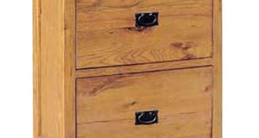 Tuscany Solid Oak Hallway Furniture Shoe Storage Cabinet