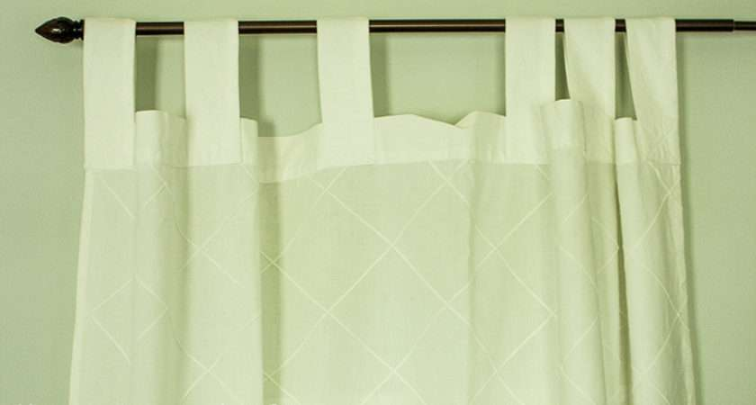 Tutorial Out Dated Tab Top Curtains