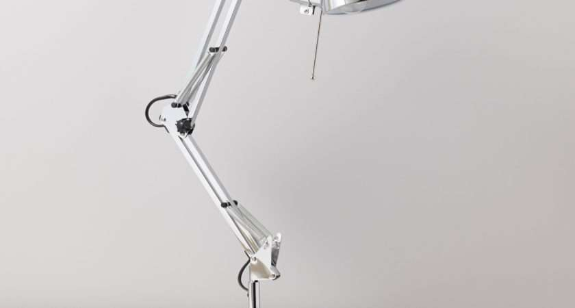 Tutti Chrome Effect Desk Lamp Departments Diy