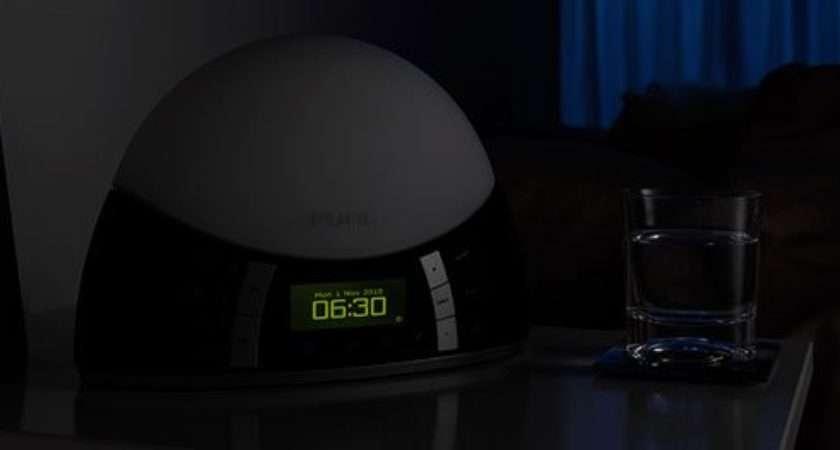 Twilight Pure Alarm Clock Digital Radio Led Lights