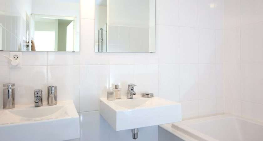 Twin Sinks Bathroom Our Next Apartment Interior Ideas