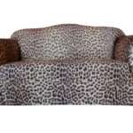 Two Seater Leopard Print Sofa Cover Sure Fit