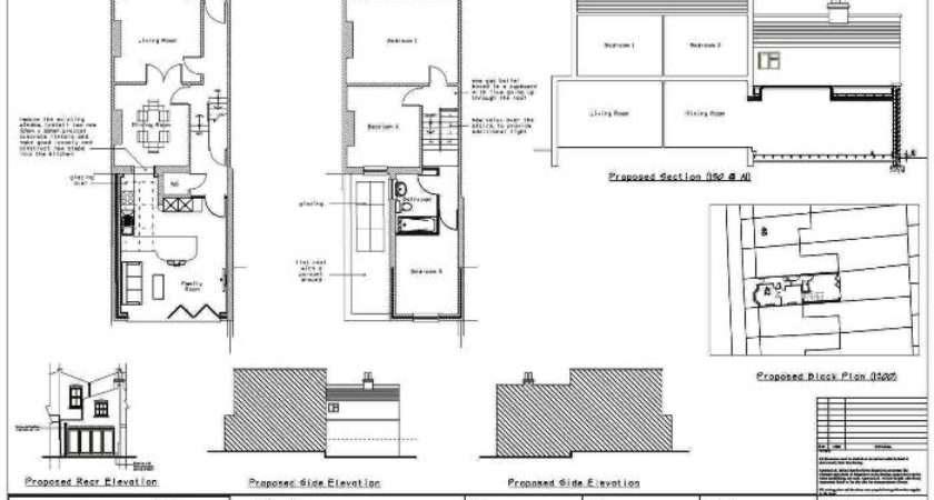 Two Storey Rear Extension Plan London Birmingham
