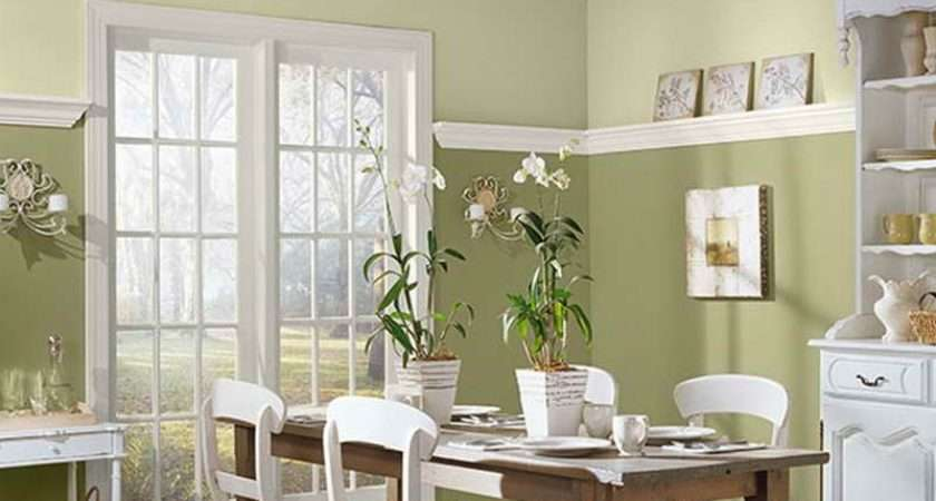Two Tone Paint Ideas Dining Room