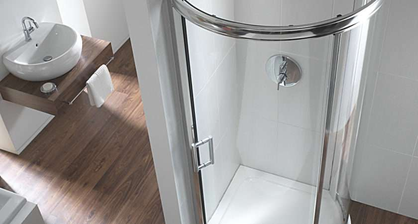 Twyford Hydr Bow Quadrant Shower Enclosure