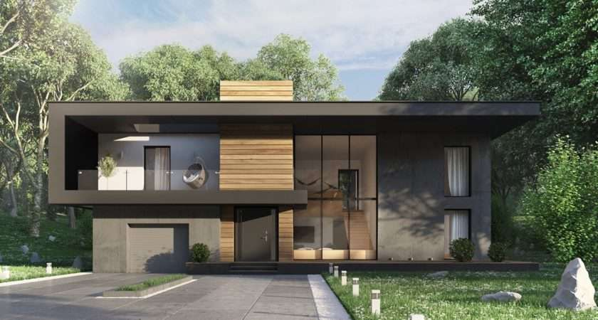 Types Modern Home Exterior Designs Fashionable