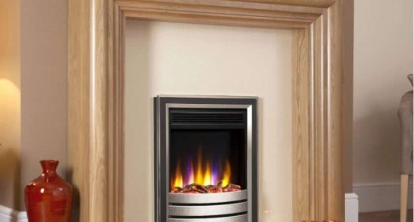 Ultiflame Designer Electric Fire Hearth Mounted Inset
