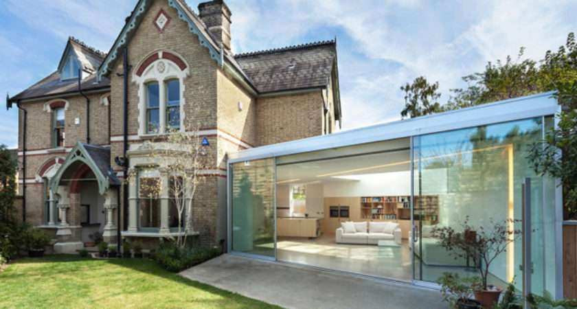 Ultra Modern Extension Period Home Homes
