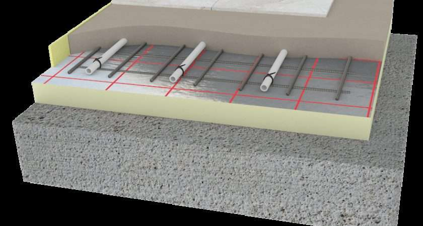 Underfloor Heating Floor Construction Systems