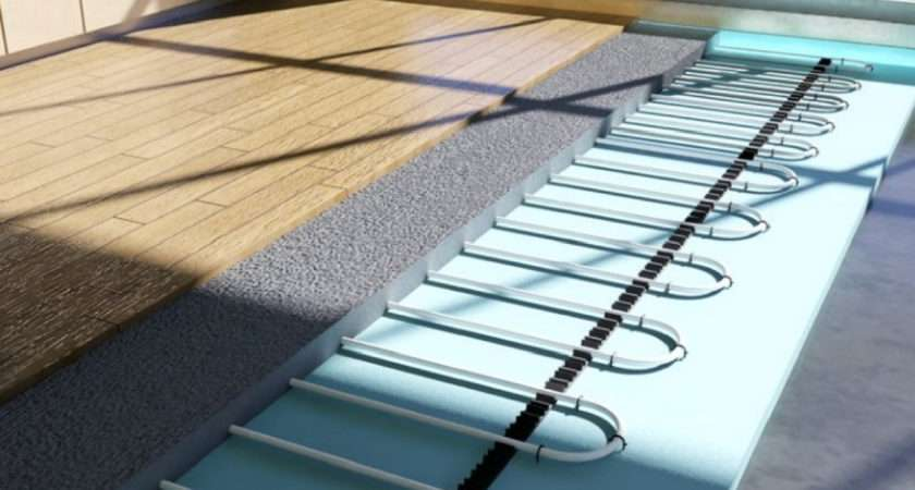 Underfloor Heating Radiators