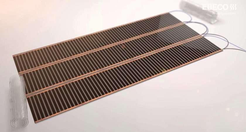 Underfloor Heating Wooden Laminate Floor Coverings Ebeco