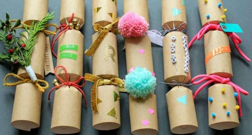 Unique Christmas Crackers Ideas Pinterest Diy