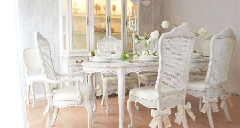 Unique French Antique Shabby Chic Dining Table