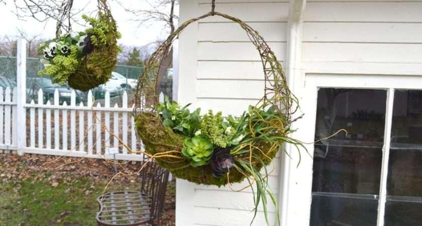 Unique Hanging Baskets Spring Ideas House Pinterest