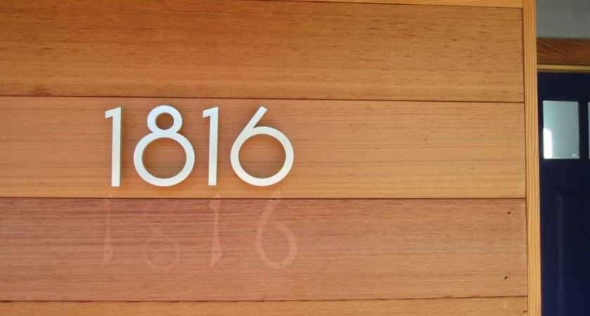 Unique House Number Ideas Decosee