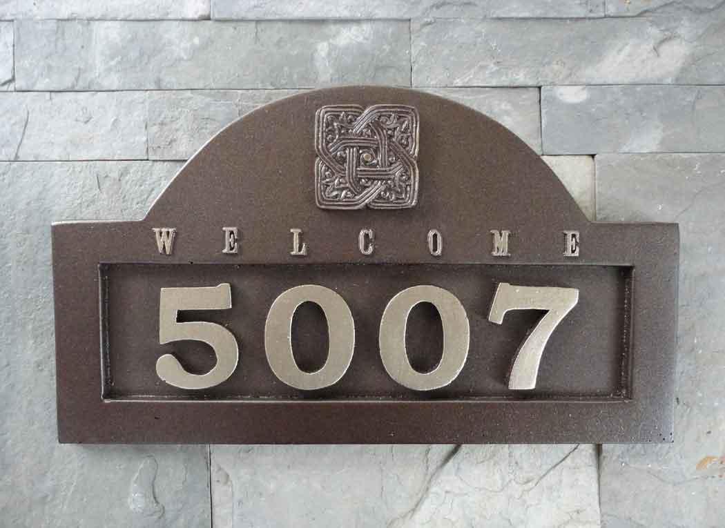 Beautiful Home Number Plate Design Images - Interior Design Ideas ...