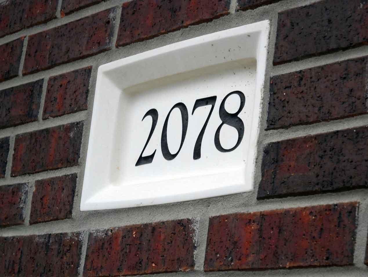 Unique House Number Ideas Decosee