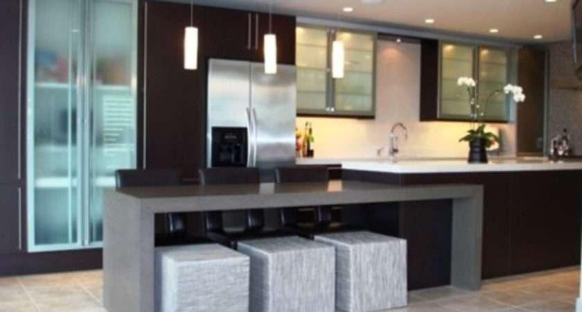 Unique Modern Kitchen Island Design Ideas Interior