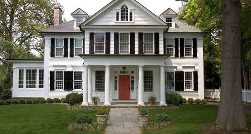 Unique New England Home Styles Design