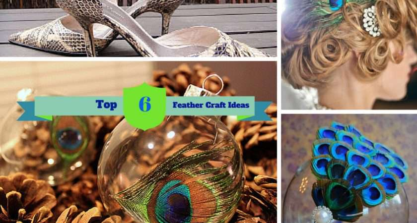 Uniquely Creative Diy Peacock Feather Craft Ideas