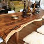 Unusual Dining Room Tables Round Modern