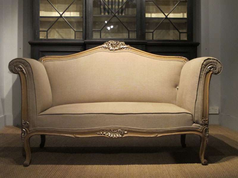 Unusual Late Cent French Drop End Sofa Sofas Armchairs