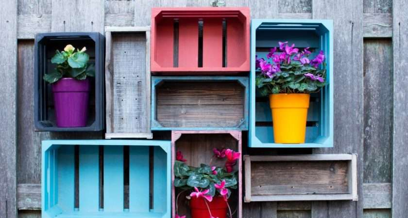 Upcycled Garden Shelving Add Open Storage Your Yard