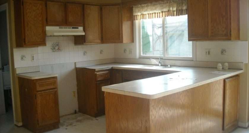 Updating Oak Kitchen Cabinets Before After They Had Just Purchased