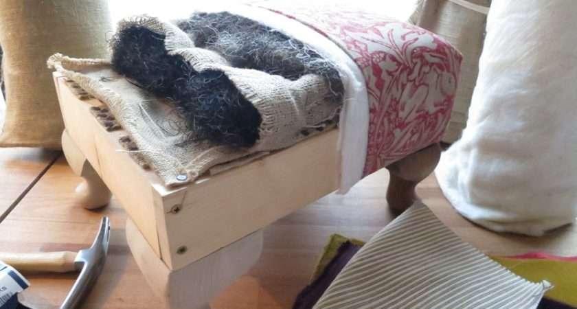 Upholster Footstool Upholstery Workshops Central London