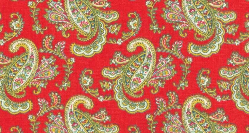 Upholstery Fabric Waverly Pretty Paisley Jewel Ann