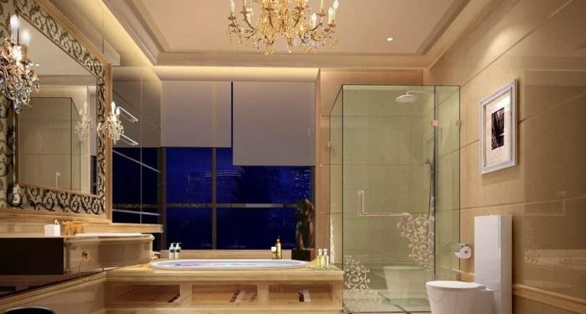 Upscale Hotel Bathroom Design
